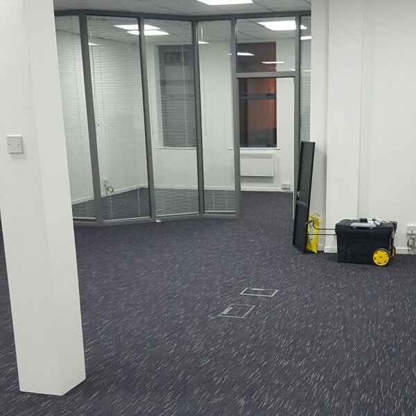 Carpets, Electrics & Partitions installed by ABC