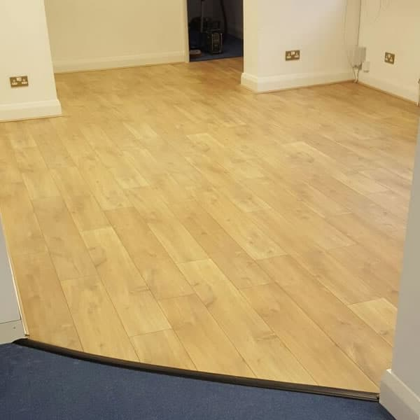 Laminate Flooring installed by ABC